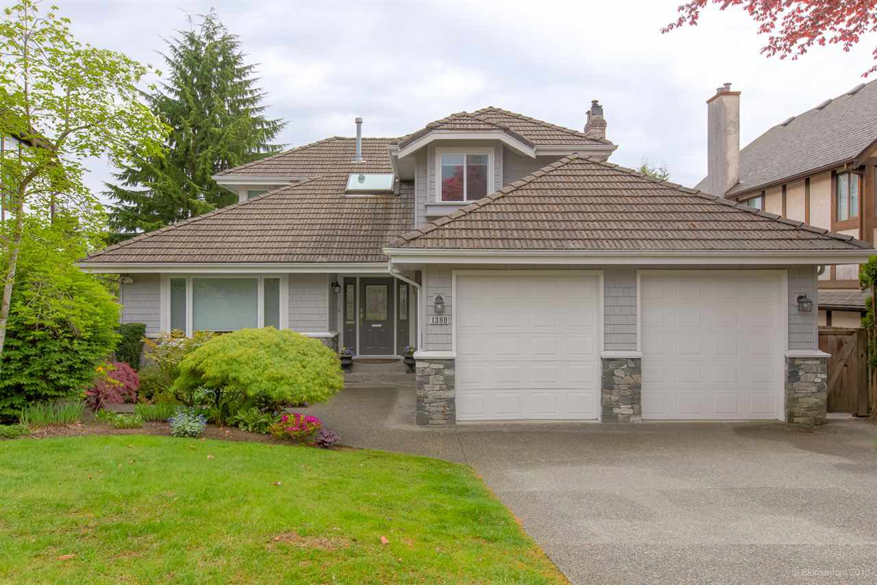 Main Photo: 1380 DEERIDGE Lane in Coquitlam: Upper Eagle Ridge House for sale : MLS®# R2367039