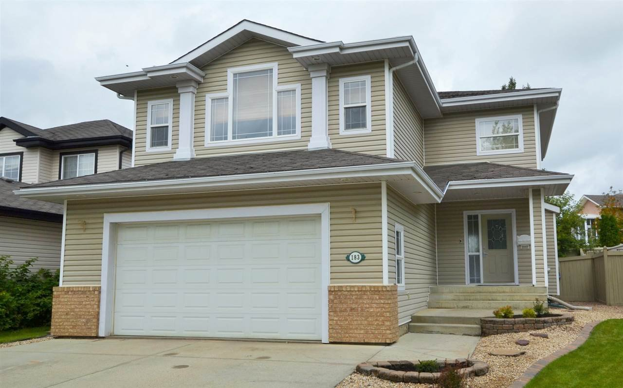 Main Photo: 183 ERIN RIDGE Drive: St. Albert House for sale : MLS®# E4170710