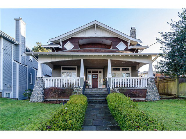 "Main Photo: 124 DURHAM Street in New Westminster: GlenBrooke North House for sale in ""GLENBROOK"" : MLS®# V1059759"
