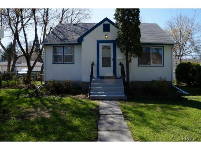 Main Photo: 1132 Edderton Avenue in WINNIPEG: Manitoba Other Residential for sale : MLS®# 1411099