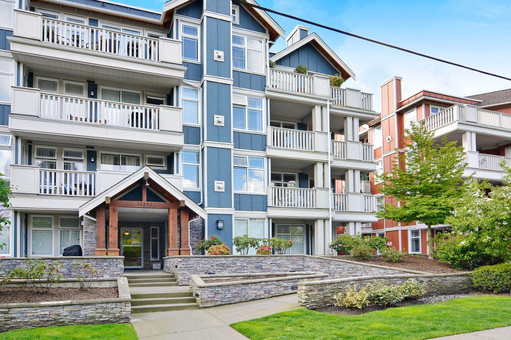 "Main Photo: 212 15392 16A Avenue in Surrey: King George Corridor Condo for sale in ""Ocean Bay Villas"" (South Surrey White Rock)  : MLS®# R2061489"