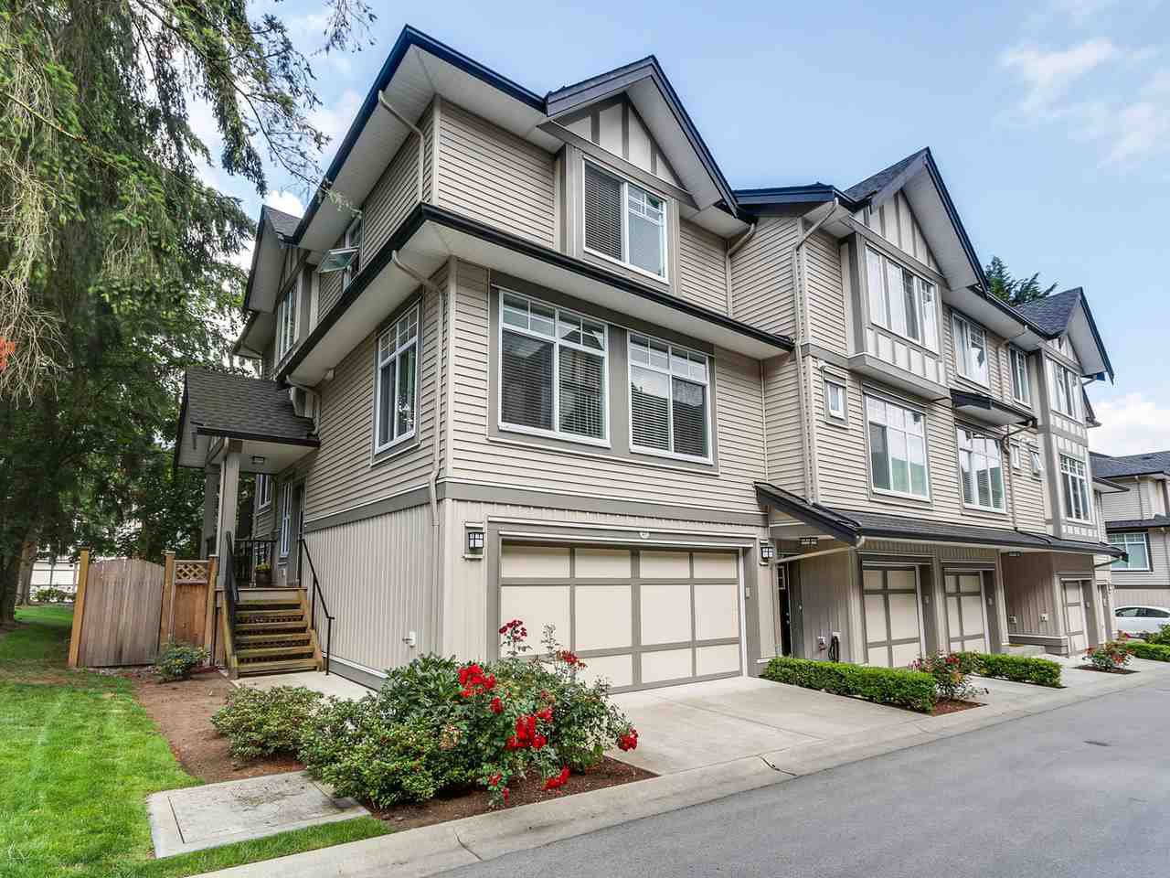 """Main Photo: 27 7090 180 Street in Surrey: Cloverdale BC Townhouse for sale in """"The Boardwalk"""" (Cloverdale)  : MLS®# R2092709"""