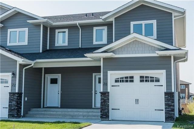 Main Photo: 22 Tweed Lane in Niverville: The Highlands Residential for sale (R07)  : MLS®# 1716977