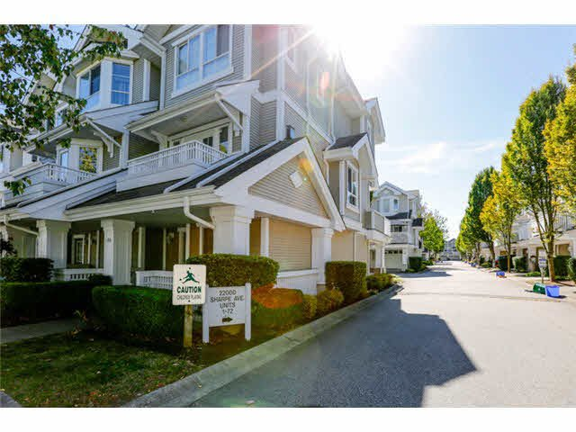 Main Photo: 8 22000 SHARPE Avenue in Richmond: Hamilton RI Condo for sale : MLS®# V1085564