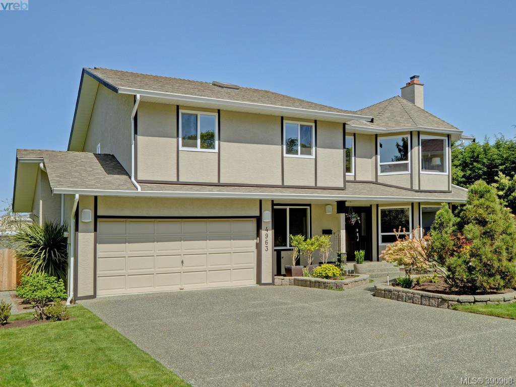Main Photo: 4963 ARSENAULT Pl in VICTORIA: SE Cordova Bay Single Family Detached for sale (Saanich East)  : MLS®# 785855