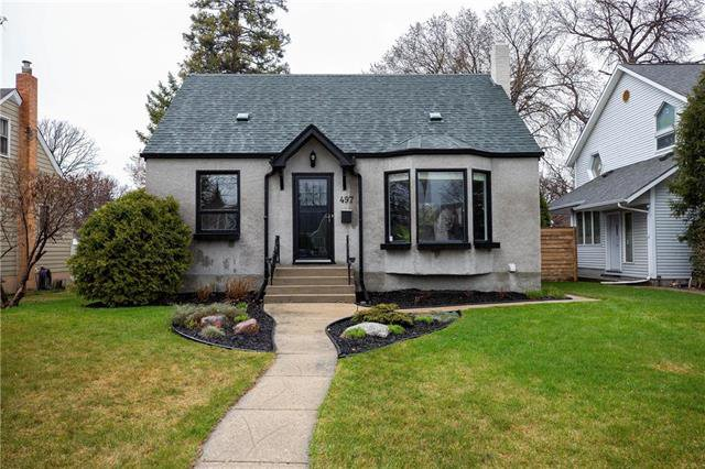 Main Photo: 497 McNaughton Avenue in Winnipeg: Riverview Residential for sale (1A)  : MLS®# 1911130
