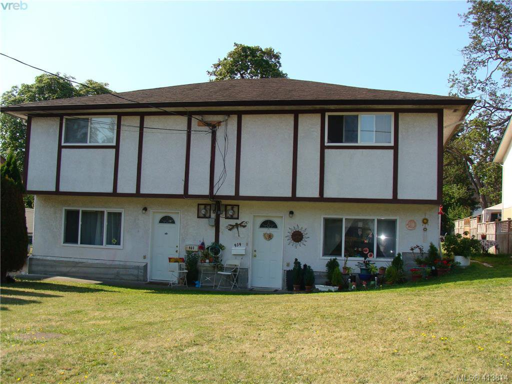 Main Photo: 937+939 Shearwater St in VICTORIA: Es Old Esquimalt Full Duplex for sale (Esquimalt)  : MLS®# 820703