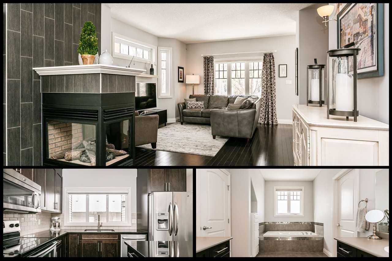 Main Photo: 4923 TERWILLEGAR Common in Edmonton: Zone 14 Attached Home for sale : MLS®# E4196133