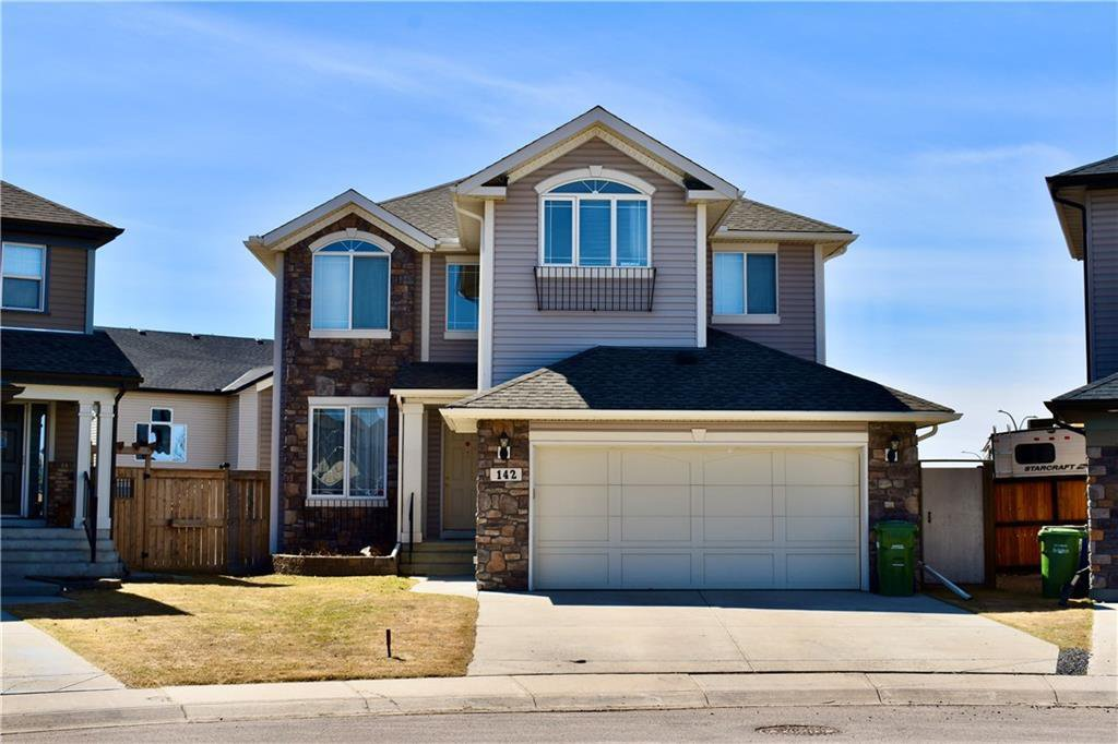 Main Photo: 142 KINGSLAND Heights SE: Airdrie Detached for sale : MLS®# A1020671