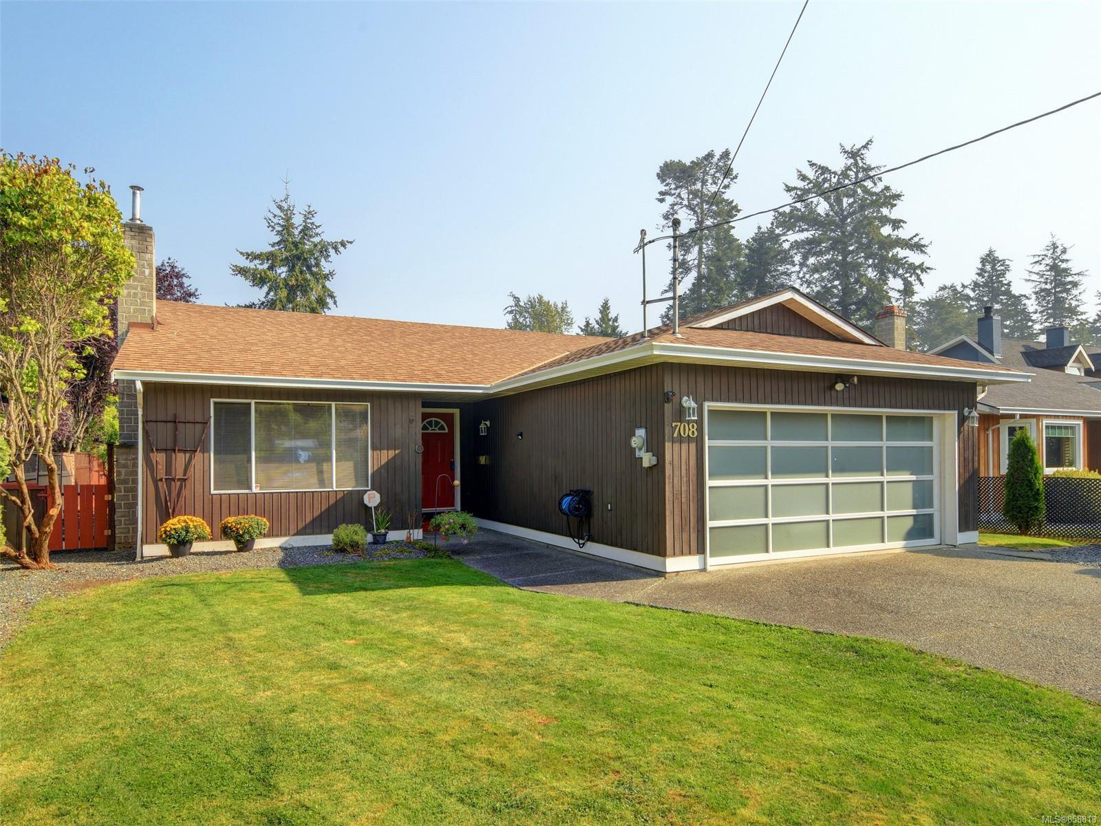 Main Photo: 708 Miller Ave in : SW Royal Oak House for sale (Saanich West)  : MLS®# 858813