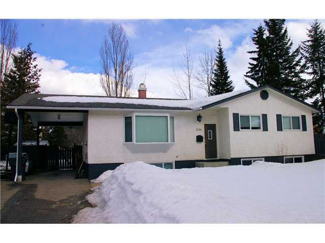 Main Photo: 1116 LIMESTONE Crescent in Prince George: Foothills House for sale (PG City West (Zone 71))  : MLS®# N234197