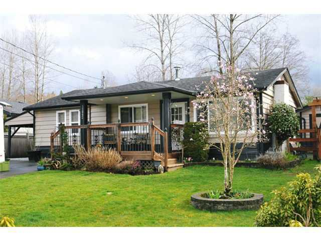 Main Photo: 12082 261ST Street in Maple Ridge: Websters Corners House for sale : MLS®# V1115358