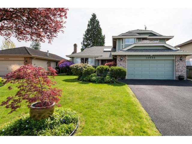 "Main Photo: 14986 20A Avenue in Surrey: Sunnyside Park Surrey House for sale in ""MERIDIAN BY THE SEA"" (South Surrey White Rock)  : MLS®# R2055119"