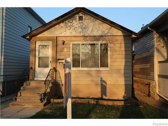 Main Photo: 853 Ashburn Street in Winnipeg: West End / Wolseley Residential for sale (West Winnipeg)  : MLS®# 1611676