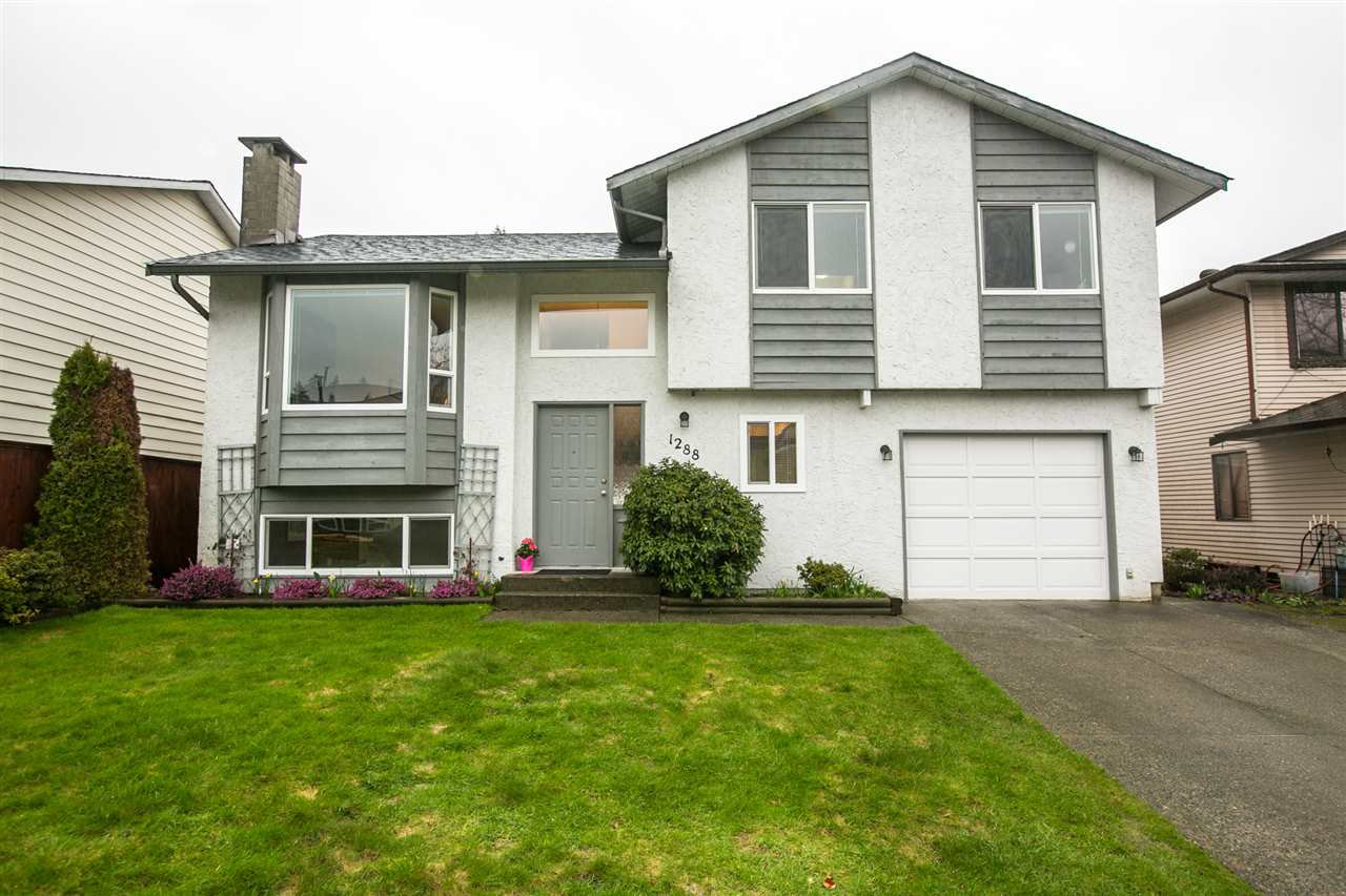 "Main Photo: 1288 NOVAK Drive in Coquitlam: River Springs House for sale in ""RIVER SPRINGS"" : MLS®# R2150193"