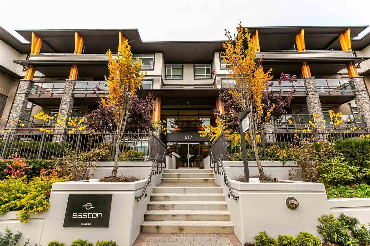 "Main Photo: 107 617 SMITH Avenue in Coquitlam: Coquitlam West Condo for sale in ""EASTON"" : MLS®# R2220282"