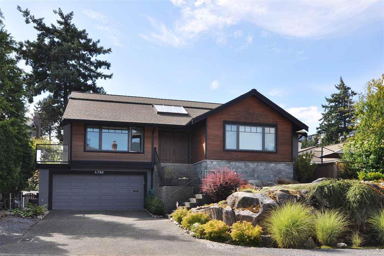 Main Photo: 4786 MEADFEILD Court in West Vancouver: Caulfeild House for sale : MLS®# R2241063