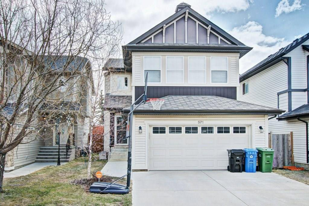Main Photo: 571 AUBURN BAY Heights SE in Calgary: Auburn Bay House for sale : MLS®# C4176219