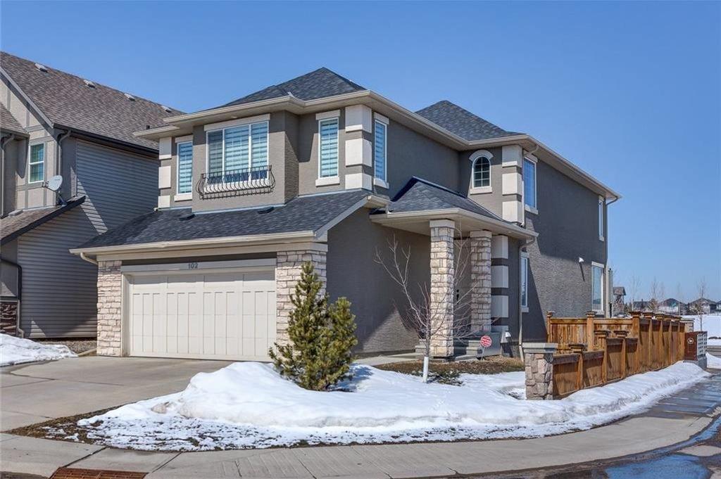 Main Photo: 102 CRANARCH Grove SE in Calgary: Cranston House for sale : MLS®# C4177688
