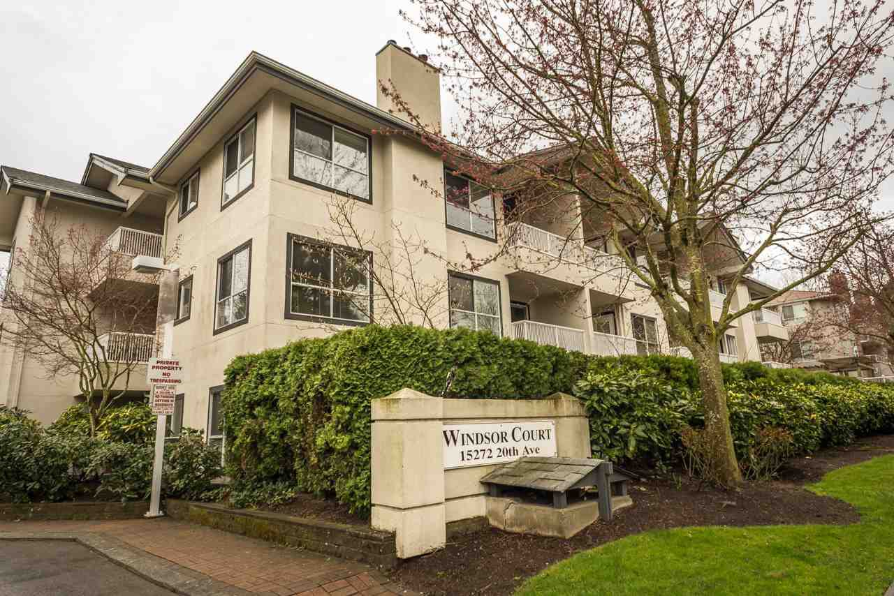 "Main Photo: 208 15272 20 Avenue in Surrey: King George Corridor Condo for sale in ""Windsor Court"" (South Surrey White Rock)  : MLS®# R2255529"