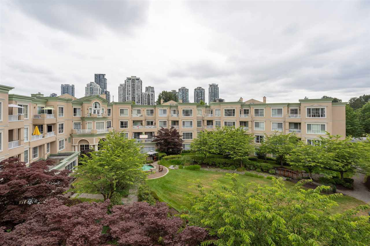 "Main Photo: 411 2995 PRINCESS Crescent in Coquitlam: Canyon Springs Condo for sale in ""PRINCESS GATE"" : MLS®# R2386105"