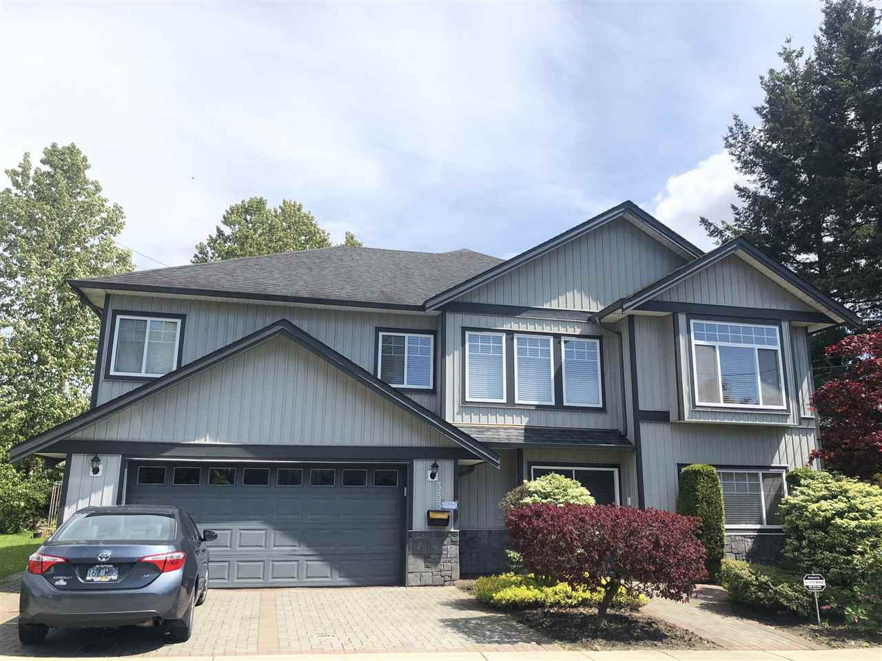 Main Photo: 333 DUNLOP Street in Coquitlam: Coquitlam West House for sale : MLS®# R2453841