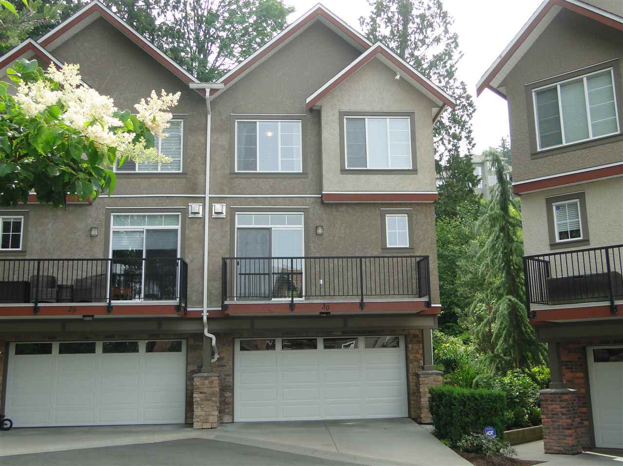 """Photo 1: Photos: 30 35626 MCKEE Road in Abbotsford: Abbotsford East Townhouse for sale in """"Ledgeview Villas"""" : MLS®# R2075472"""