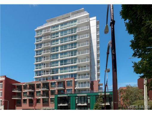 Main Photo: 501 834 Johnson St in VICTORIA: Vi Downtown Condo Apartment for sale (Victoria)  : MLS®# 739389