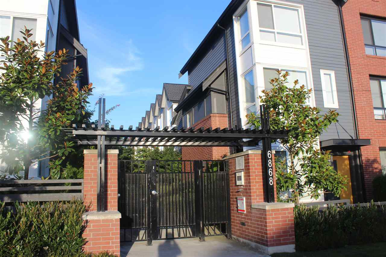 Main Photo: 57 6868 BURLINGTON Avenue in Burnaby: Metrotown Townhouse for sale (Burnaby South)  : MLS®# R2101873