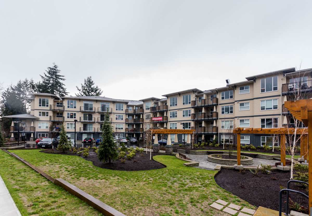 Main Photo: 411 2565 CAMPBELL AVENUE in Abbotsford: Central Abbotsford Condo for sale : MLS®# R2185831