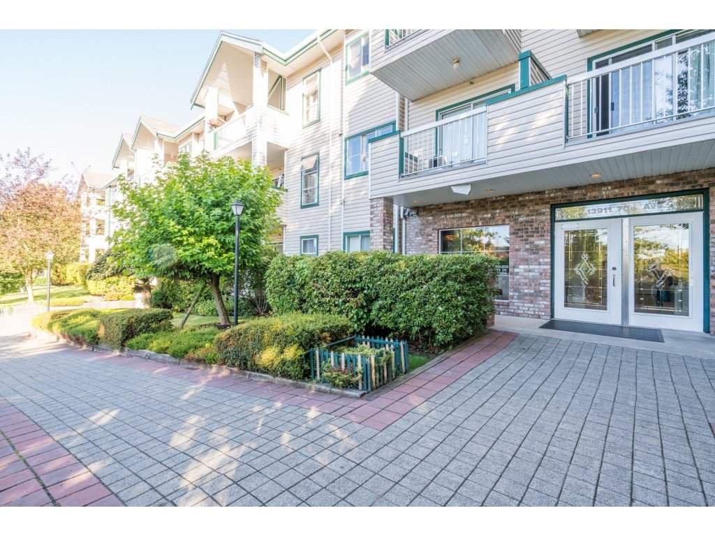 "Main Photo: 125 13911 70 Avenue in Surrey: East Newton Condo for sale in ""Canterbury Green"" : MLS®# R2208850"