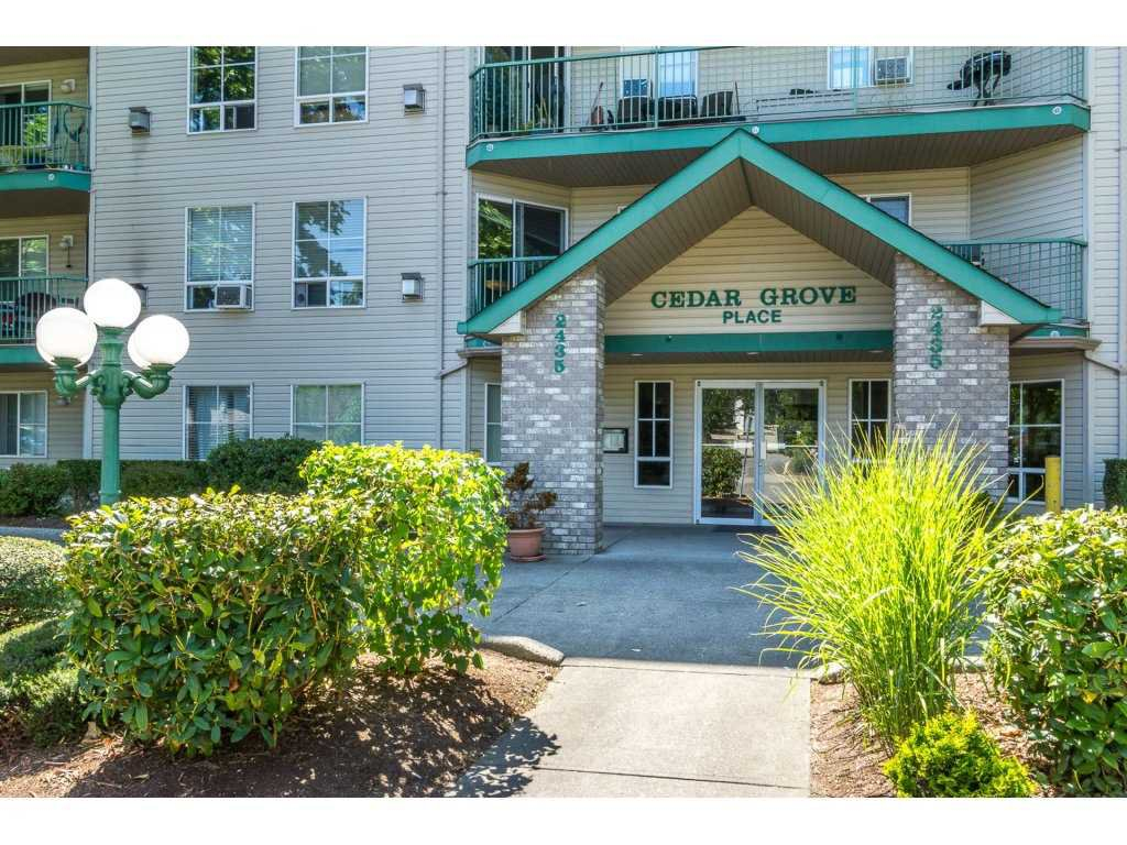 """Main Photo: 401 2435 CENTER Street in Abbotsford: Abbotsford West Condo for sale in """"Cedar Grove Place"""" : MLS®# R2231720"""