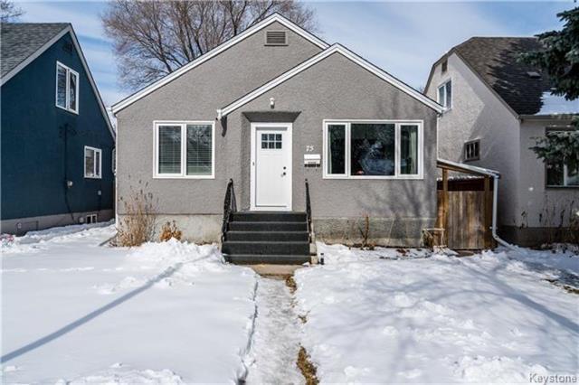 Main Photo: 75 Imperial Avenue in Winnipeg: St Vital Residential for sale (2D)  : MLS®# 1805521