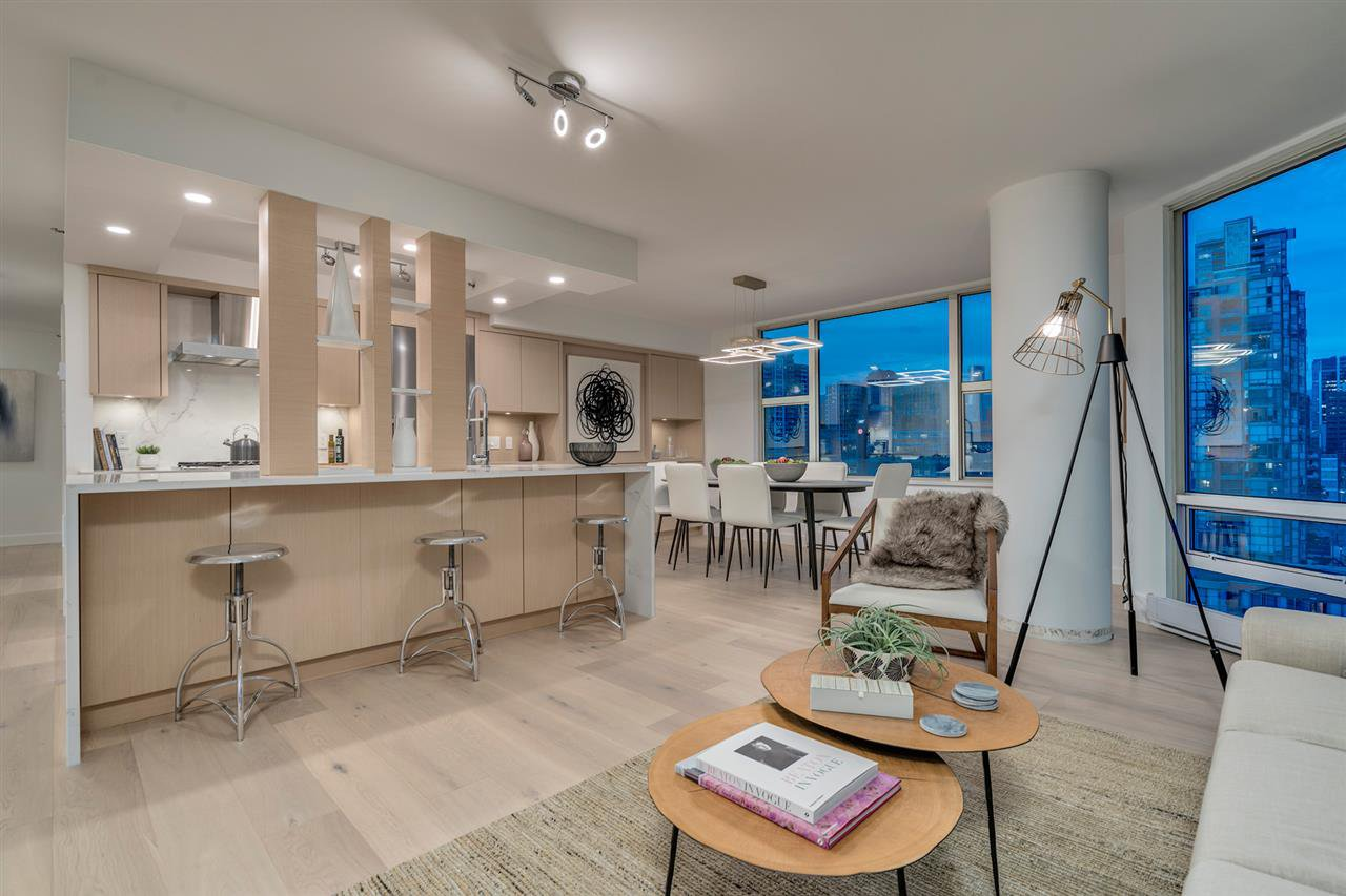 "Main Photo: 1508 1500 HORNBY Street in Vancouver: Yaletown Condo for sale in ""888 Beach"" (Vancouver West)  : MLS®# R2305894"