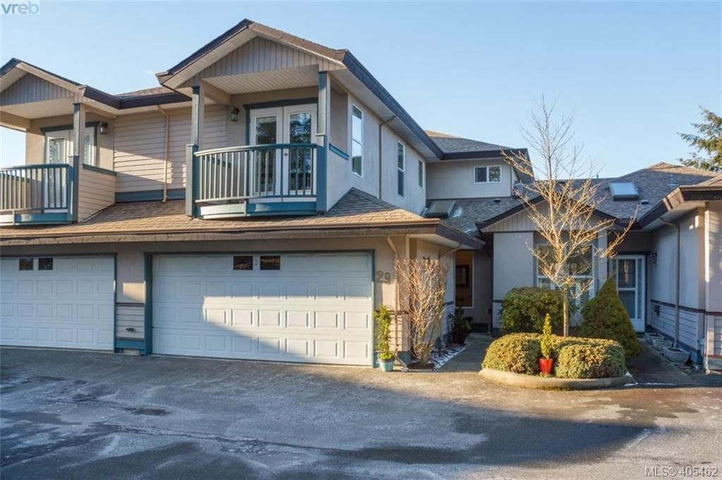 Main Photo: 29 4525 Wilkinson Rd in VICTORIA: SW Royal Oak Row/Townhouse for sale (Saanich West)  : MLS®# 805623