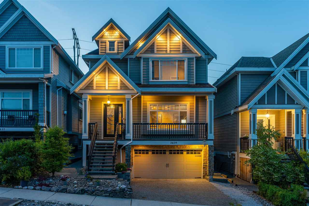 Main Photo: 3439 GISLASON AVENUE in Coquitlam: Burke Mountain House for sale : MLS®# R2391578