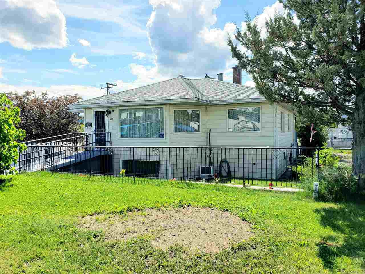 Main Photo: 591 JOHNSON Street in Prince George: Central House for sale (PG City Central (Zone 72))  : MLS®# R2432709