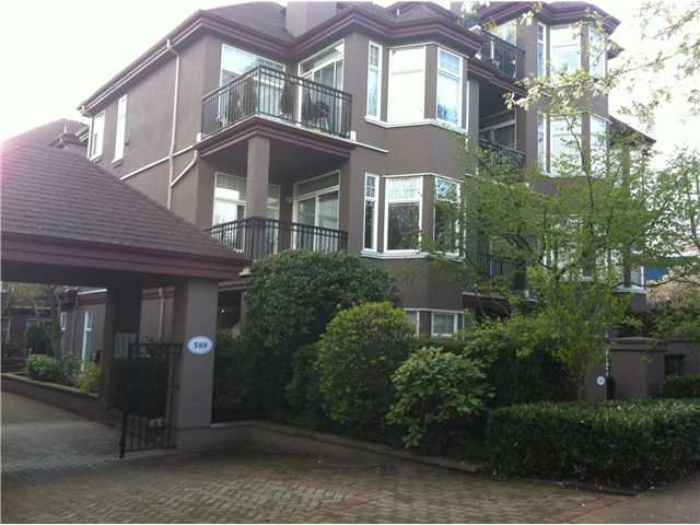 Main Photo: # 101 588 12TH ST in New Westminster: Uptown NW Condo for sale : MLS®# V1017371