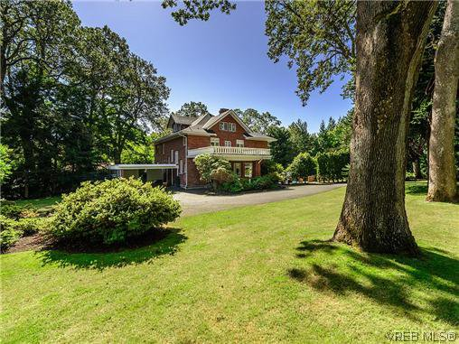 Main Photo: 3125 Uplands Rd in VICTORIA: OB Uplands House for sale (Oak Bay)  : MLS®# 696006