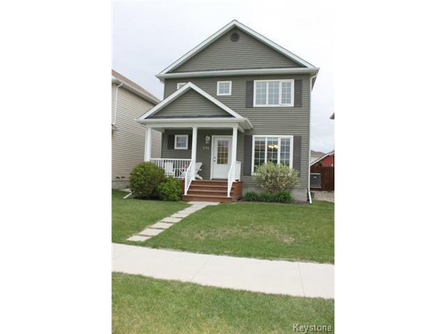Main Photo: 696 Paddington Road in WINNIPEG: St Vital Residential for sale (South East Winnipeg)  : MLS®# 1515063