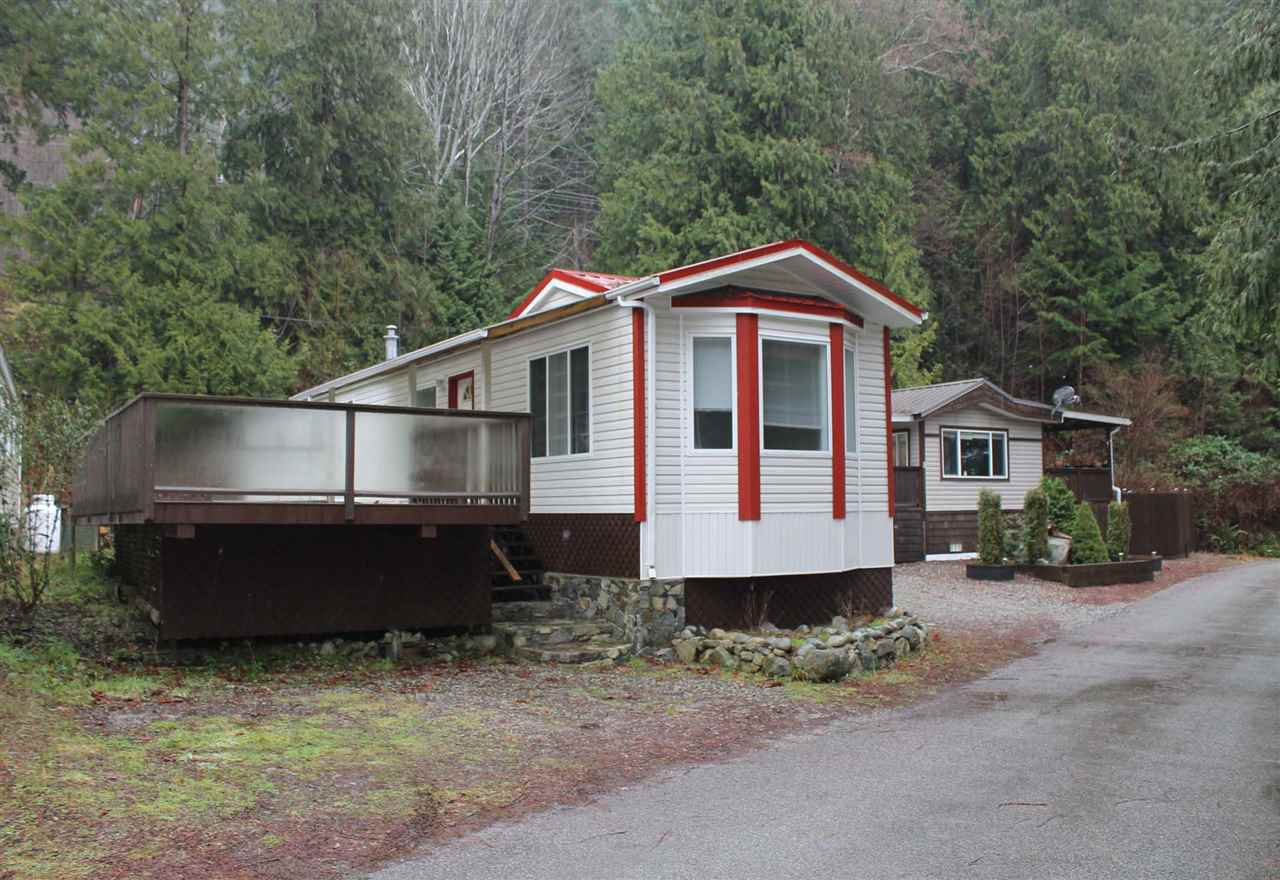 Main Photo: 4 12793 MADEIRA PARK Road in Madeira Park: Pender Harbour Egmont Manufactured Home for sale (Sunshine Coast)  : MLS®# R2022682