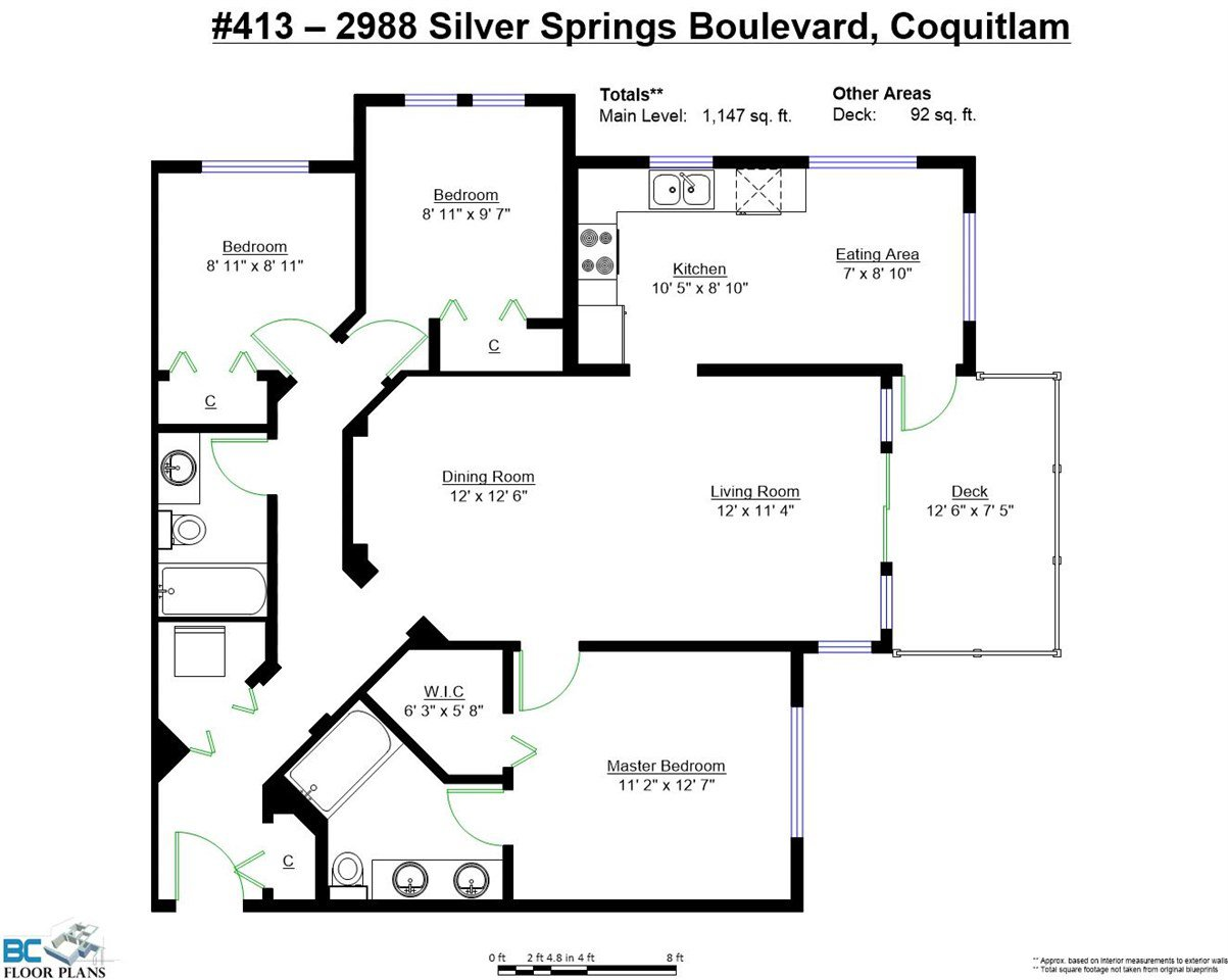 """Photo 16: Photos: 413 2988 SILVER SPRINGS Boulevard in Coquitlam: Westwood Plateau Condo for sale in """"TRILLIUM AT SILVER SPRINGS"""" : MLS®# R2044484"""