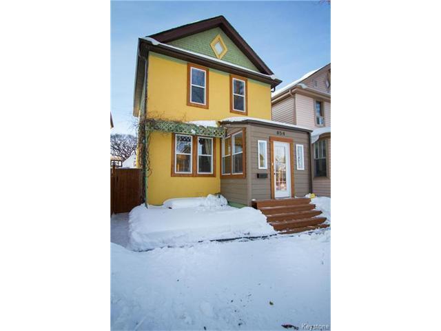 Main Photo: 854 Lipton Street in Winnipeg: Residential for sale (5C)  : MLS®# 1701328