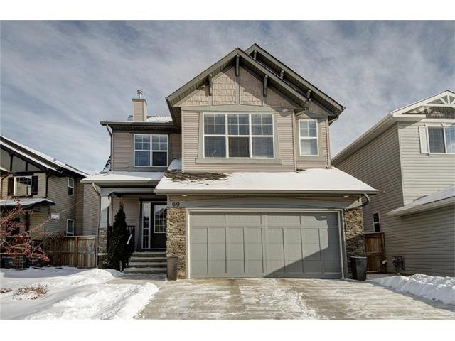 Main Photo: 69 BRIGHTONSTONE Gardens SE in Calgary: New Brighton House for sale : MLS®# C4096933