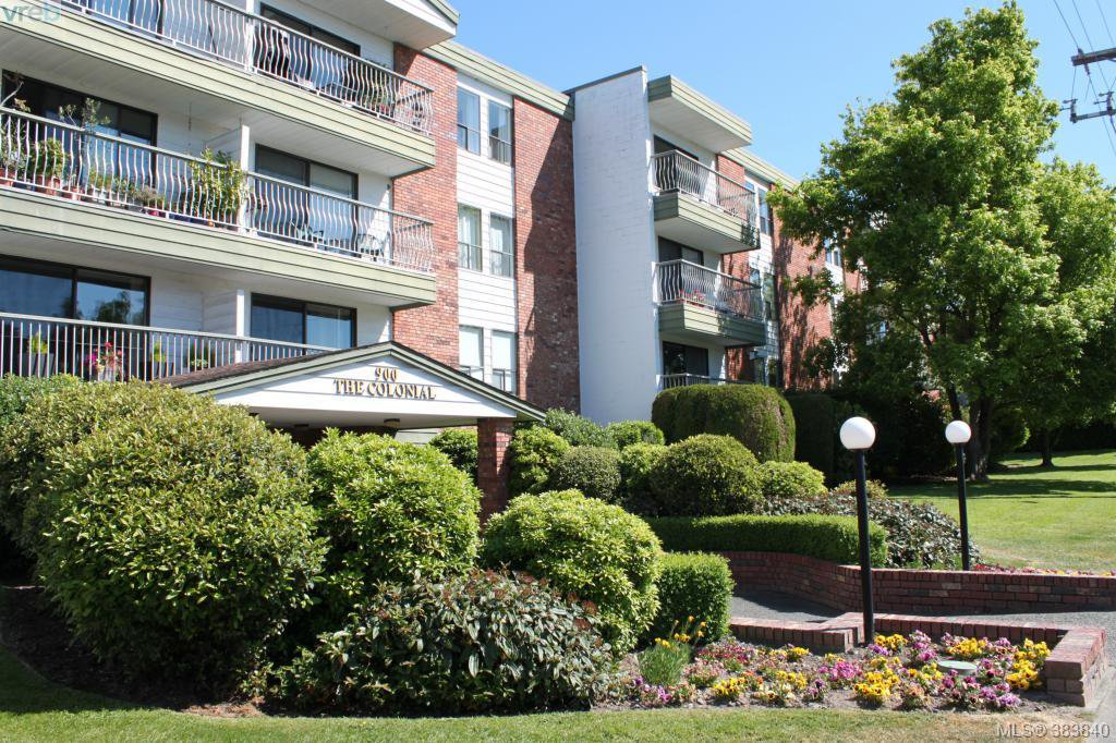 Main Photo: 119 900 Tolmie Avenue in VICTORIA: SE Quadra Condo Apartment for sale (Saanich East)  : MLS®# 383840