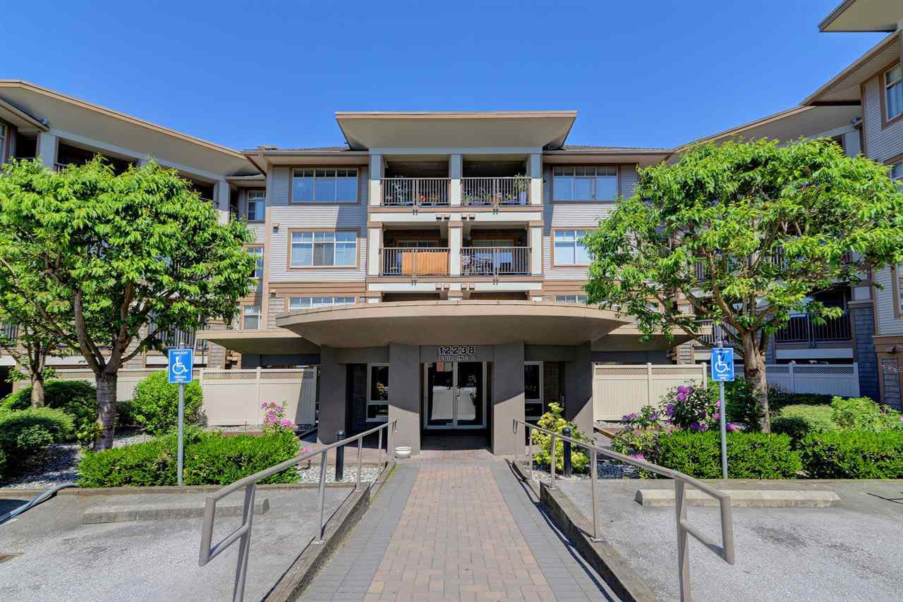 "Main Photo: 218 12238 224 Street in Maple Ridge: East Central Condo for sale in ""URBANO"" : MLS®# R2269030"