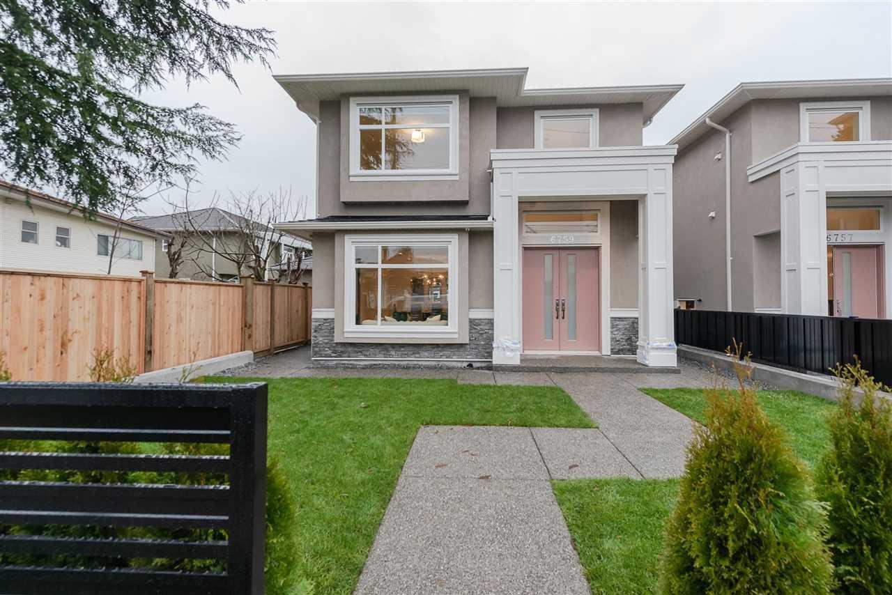Main Photo: 6757 SPERLING Avenue in Burnaby: Upper Deer Lake House 1/2 Duplex for sale (Burnaby South)  : MLS®# R2368768