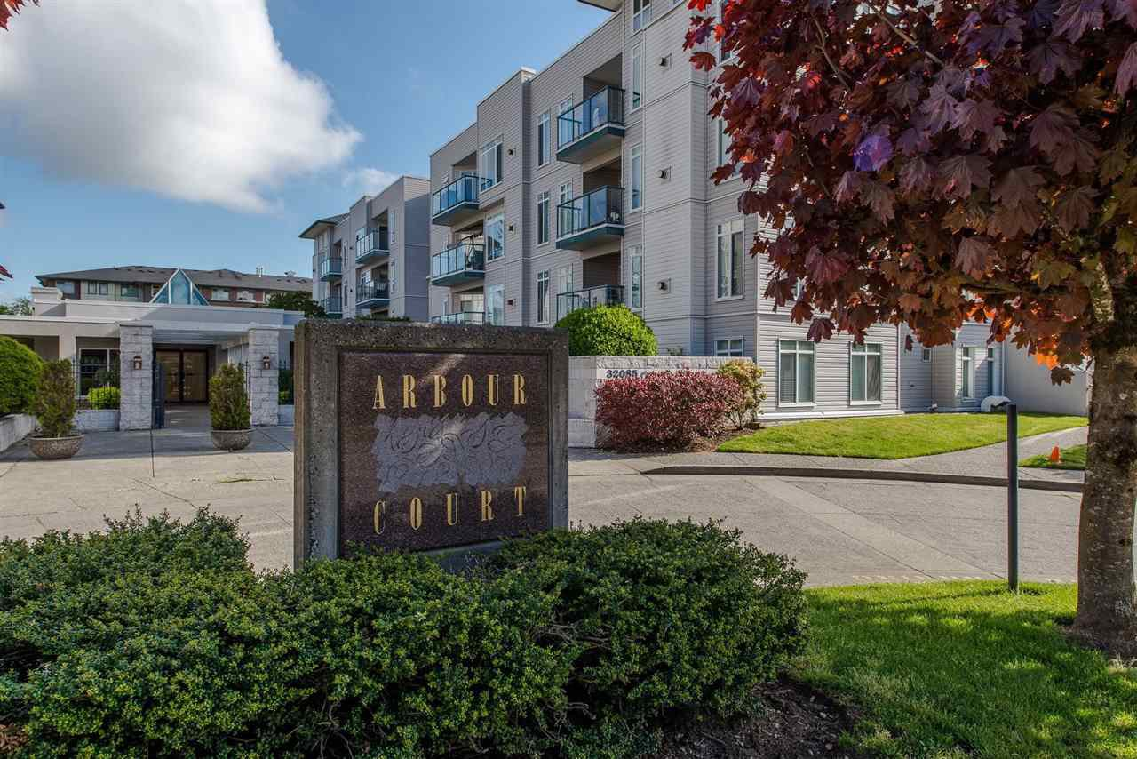 "Main Photo: 318 32085 GEORGE FERGUSON Way in Abbotsford: Abbotsford West Condo for sale in ""Arbour Court"" : MLS®# R2376542"
