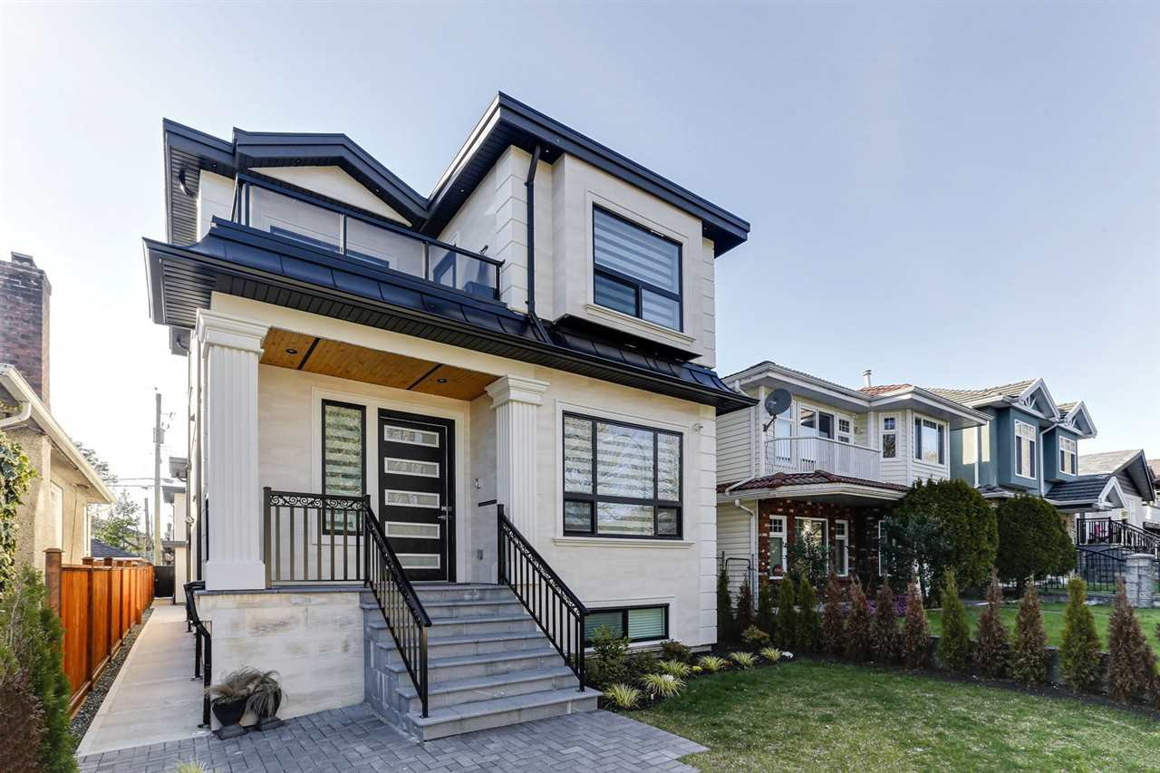Main Photo: 6847 SHERBROOKE Street in Vancouver: South Vancouver House for sale (Vancouver East)  : MLS®# R2445535