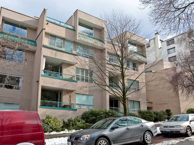 """Main Photo: 308 1345 COMOX Street in Vancouver: West End VW Condo for sale in """"TIFFANY COURT"""" (Vancouver West)  : MLS®# V895893"""